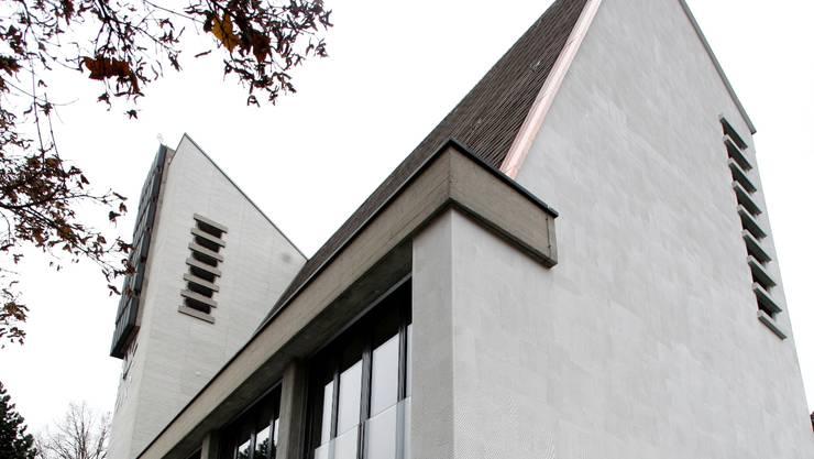 Die sanierte Lukaskirche von aussen. Hanspeter Bärtschi