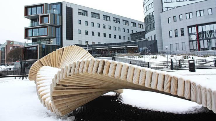 Auch in Oslo stehen bereits Spielskulpturen von Norbert Roztocki.