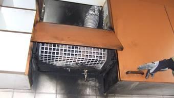 Küchenbrand in Reinach
