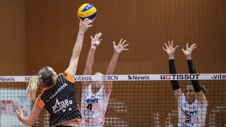 Sm'Aesch Pfeffingen ist erneut an den Westschweizerinnen gescheitert: Gabi Schottrof und Livia Zaugg unterliegen Neuchâtel UC mit 3:2.