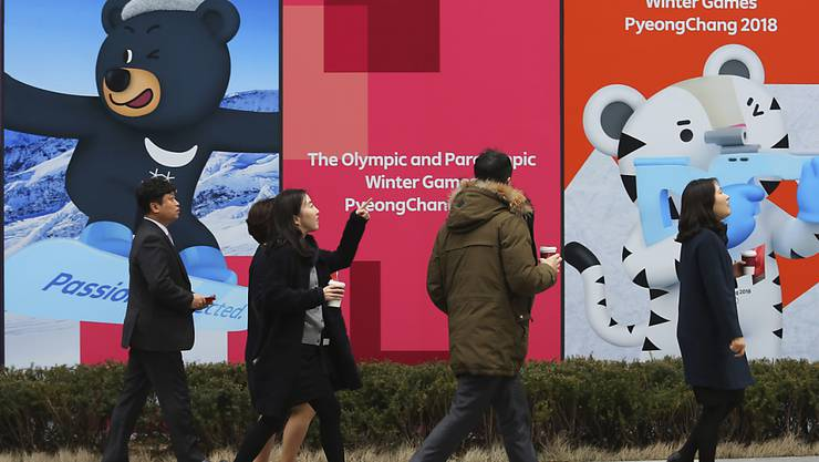 Bei Olympia 2018 soll es einen gemeinsamen Einlauf von Süd- und Nordkorea geben