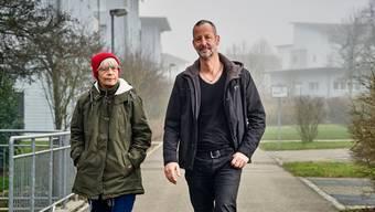 Stehen ab Mittwoch vor Gericht: Martina Hess und ihr Sohn Beni Hess.