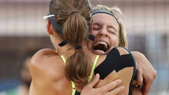 Starke Vorstellung im Olympia-Halbfinal: Laura Ludwig (rechts) and Kira Walkenhorst
