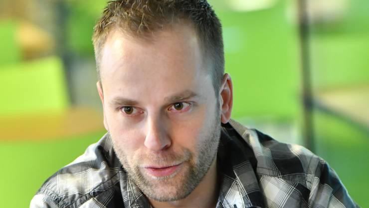 Marco Truttmann vom EHC Olten