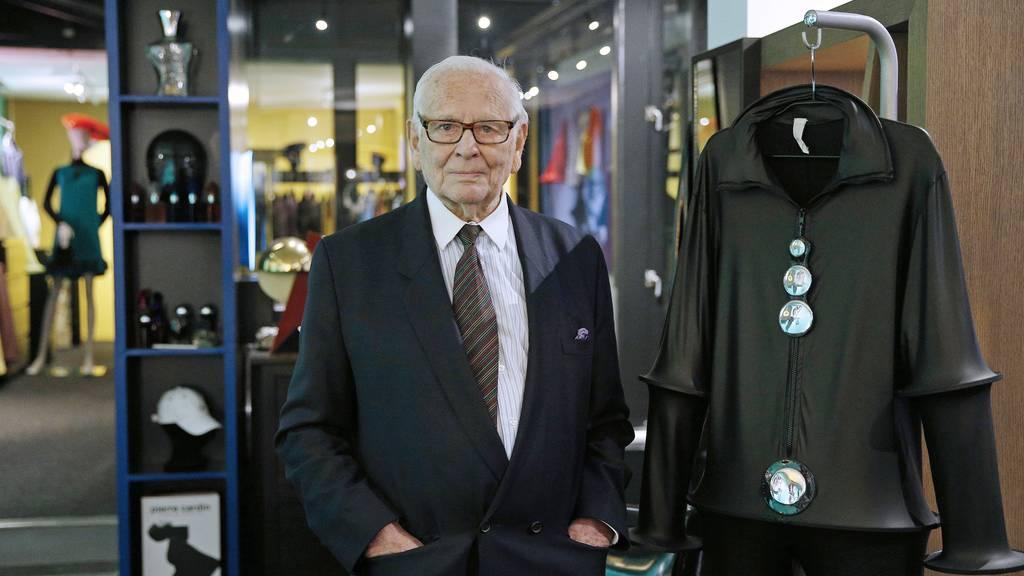 Pariser Modeschöpfer Pierre Cardin stirbt mit 98 Jahren