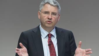 Severin Schwan, CEO von Roche, verdiente im Geschäftsjahr 2015 insgesamt 11,95 Millionen Franken. (Archiv)
