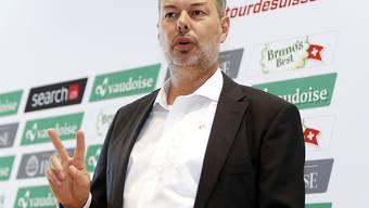 Olivier Senn im Mai 2017 in seiner damaligen Funktion als Generaldirektor der Tour de Suisse
