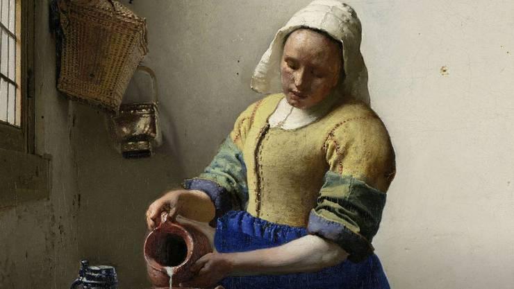 Das Rijksmuseum in Amsterdam hat 400000 seiner Bilder digital in guter Auflösung aufbereitet und aufs Netz gestellt. Neben Rembrandts Nachtwache gehört Vermeers Milchmagd gehört darunter zu den bekanntesten.