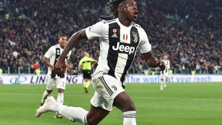 Moise Kean steht vor einem Wechsel von Juventus Turin zu Everton und soll in Liverpool gut 3,5 Millionen Franken pro Jahr verdienen