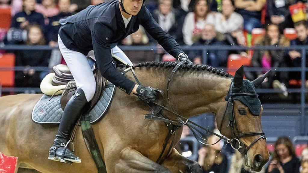 Steve Guerdat gehört beim Weltcup-Final in Paris zu den Sieganwärtern