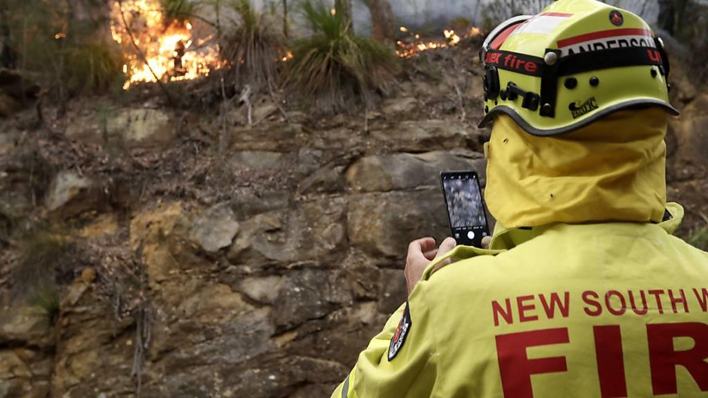 Australien: Weiterer Feuerwehrmann ums Leben gekommen