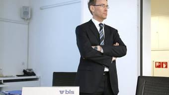BLS-Chef Bernard Guillelmon vor der Meidenkonferenz