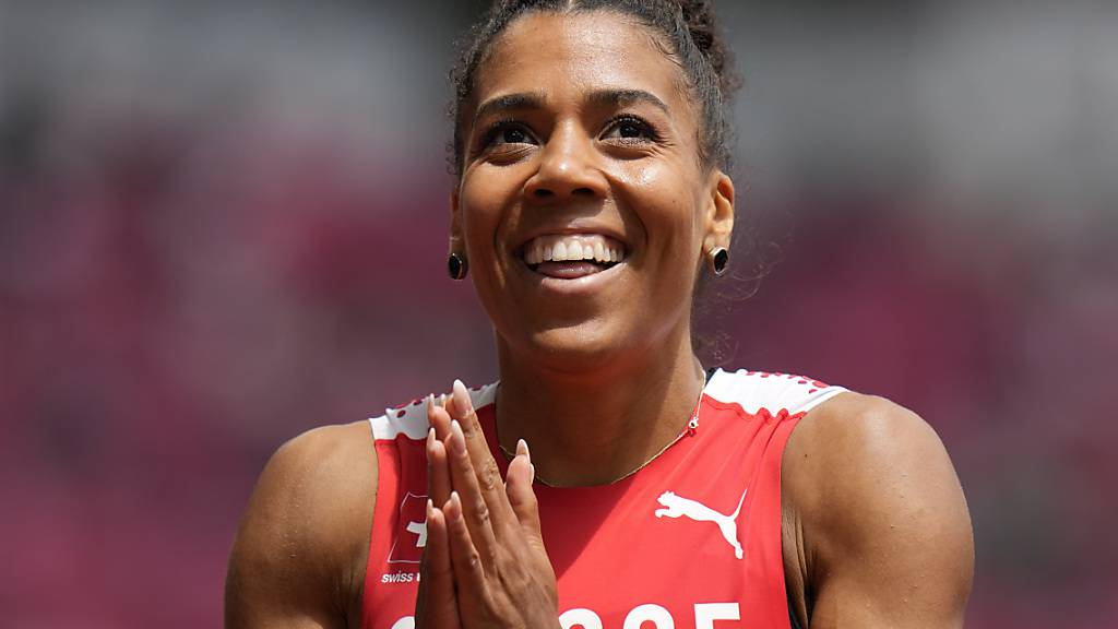 Schweizer Rekord zum zweiten Mal egalisiert und im Olympiafinal über 200 m: Mujinga Kambundji hat gut lachen