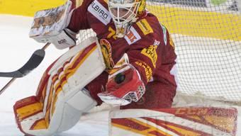 Bleibt eine weitere Saison ein Tiger: Goalie Ivars Punnenovs