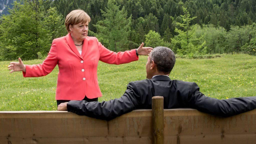 Im neusten Macht-Ranking des Forbes Magazine hat die deutsche Kanzlerin Angela Merkel US-Präsident Barack Obama überholt (Archiv).