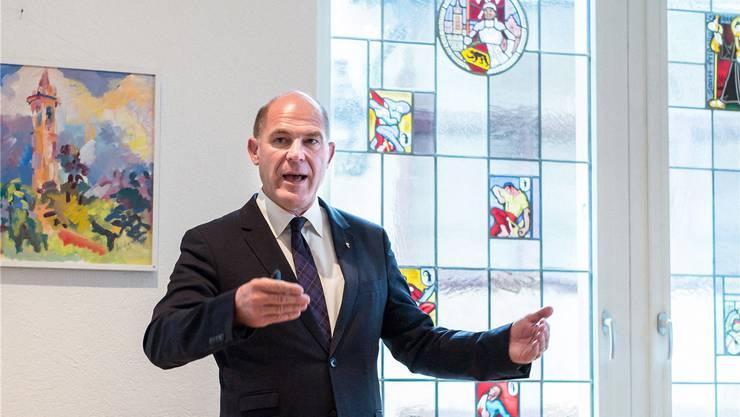 Finanzdirektor Anton Lauber: «Steuererhöhungen sind nicht mehrheitsfähig.»
