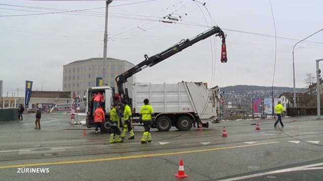 Lastwagenfahrer gefährlich für die Strasse?