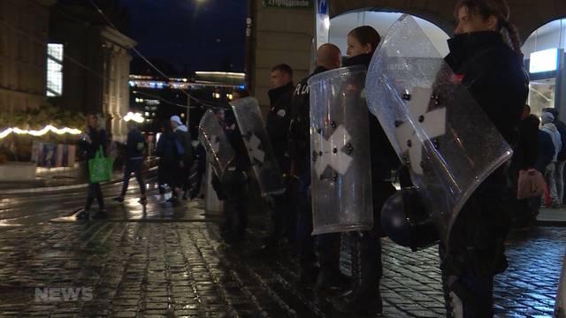 32 Mio. Polizeikosten pro Jahr allein in Stadt Bern