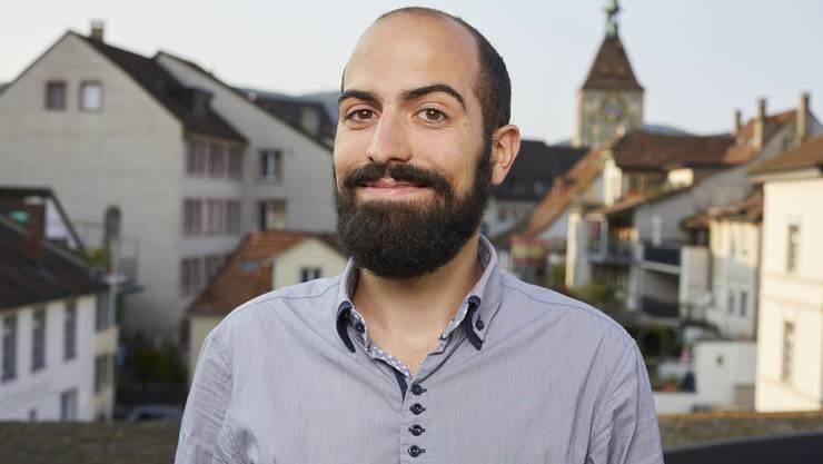 """Daniel Ballmer (Grüne) ärgert sich über den """"Landanzeiger""""."""