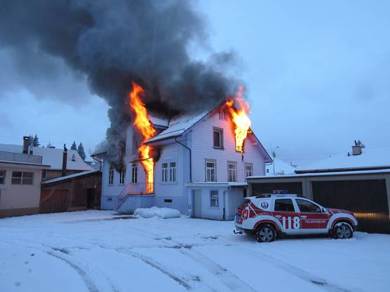 Warum es zum Brand kam, ist noch unklar