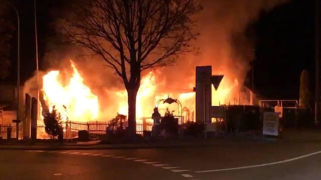 Villmergen: Brand zerstört das Restaurant «Mi Casa Loca» vollständig