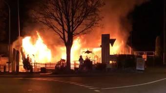 Brand zerstört das Restaurant «Mi Casa Loca» in Villmergen vollständig: So berichtete TeleM1 im Februar.