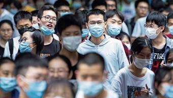 Geschafft fürs Erste: Schüler in Nanjing nach dem ersten «Gaokao»-Prüfungstag.
