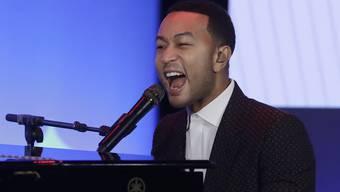 Der Sänger John Legend begegnet seiner Wut mit Liebe. (Archivbild)