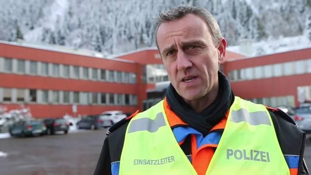 Polizeisprecher zum Unfall im Gotthardstrassentunnel