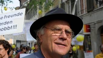 Samuel Widmer, Psychiater und Leiter der Kirschblütengemeinschaft starb am Mittwoch 69-jährig an Herzversagen.