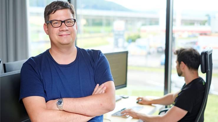 Parashift-Gründer Alain Veuve: «Heute sind weltweit Millionen damit beschäftigt, Daten einzutippen.»