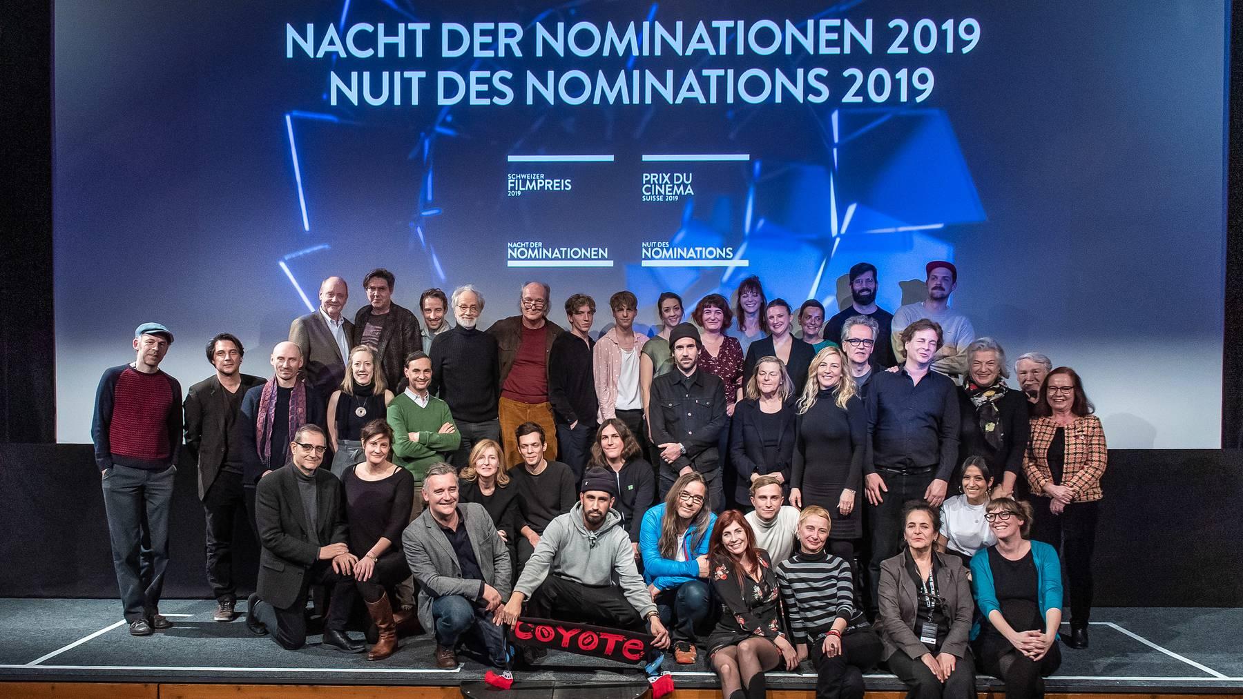 99 Filme für Schweizer Filmpreis 2019 nominiert