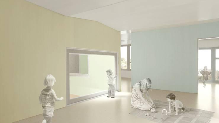 Visualisierung, Kindertagesstätte