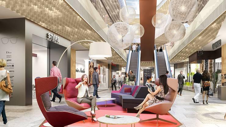 Loungen, einkaufen oder Sport treiben: Mit der Mall of Switzerland in Ebikon LU öffnet im September das zweitgrösste Einkaufszentrum der Schweiz.
