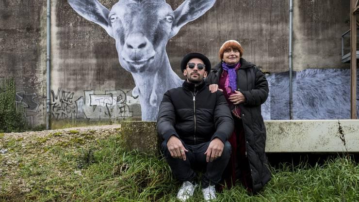 Voneinander beeindruckt: Der junge Street-Artist JR und die französische Regielegende Agnès Varda.
