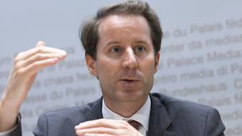 SVP-Fraktionspräsident Thomas Aeschi sähe SP-Bundesrätin Simonetta Sommaruga gerne durch die grüne Regula Rytz ersetzt.