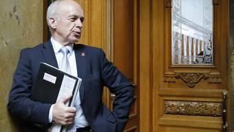 Finanzminister Ueli Maurer hält den automatischen Informationsaustausch für eine Notwendigkeit.