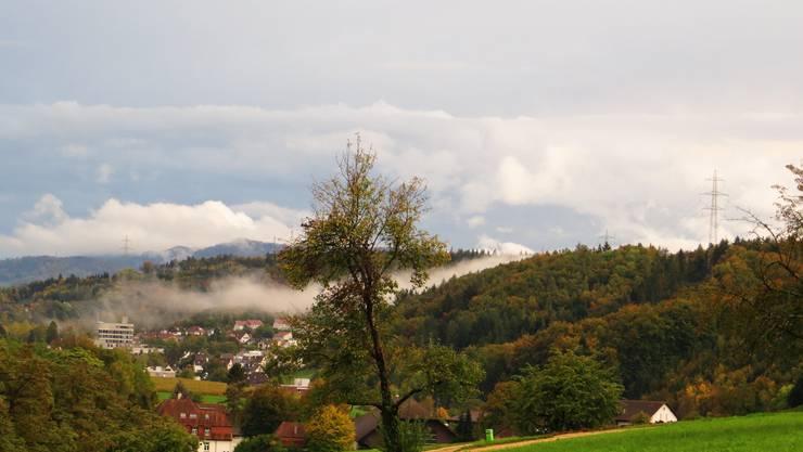 Der Herbst mit Blick auf den Schillingsrain in Liestal.