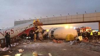 In Russland geschehen vergleichsweise viele Flugzeugabstürze. (Symbolbild)