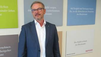 Marc Jordan, Bankleiter der Raiffeisenbank Oberfreiamt