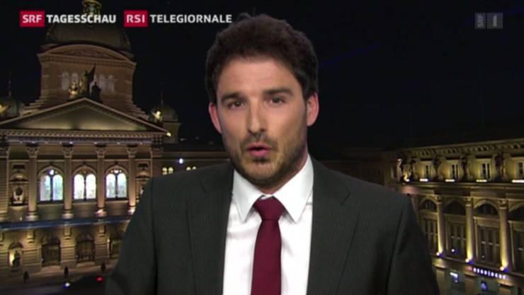 Fabio Storni, Redaktor RSI Bundeshaus