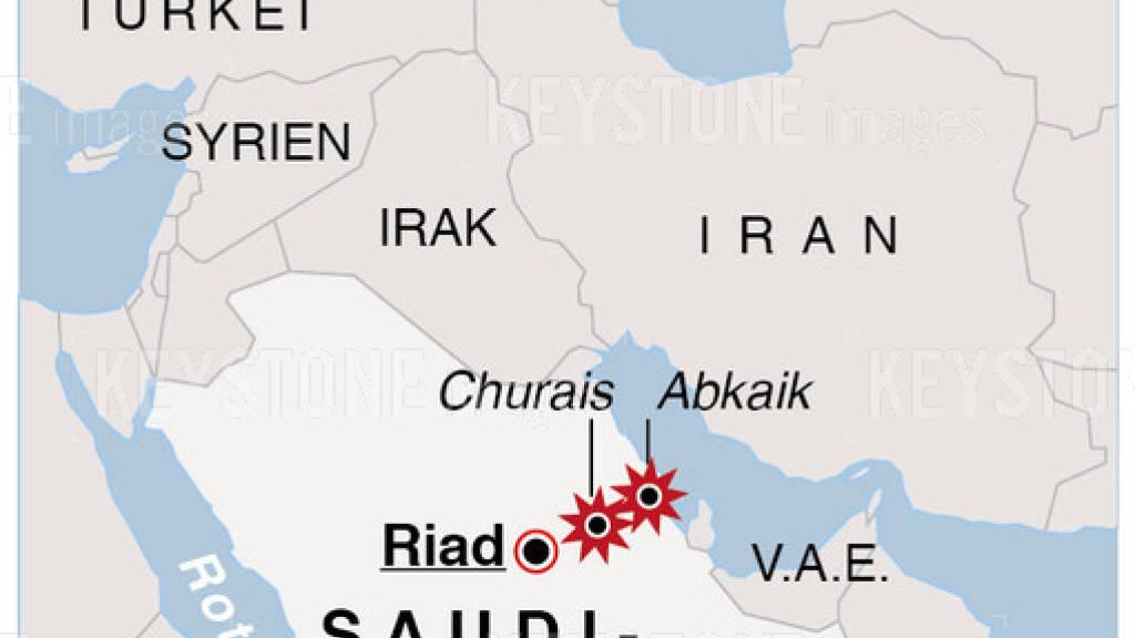 Nach Angriffen auf Saudi-Arabien ziehen Ölpreise deutlich an