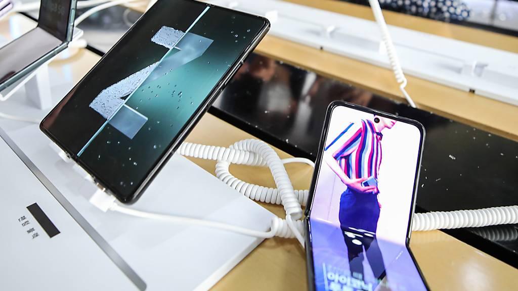 Samsung hat für die nächsten Jahre ein milliardenschweres Investitionsprogramm geplant. Dabei will dsa Unternehmen nebst Bereichen wie Künstliche Intelligenz, Chips und Robotik auch beispielsweise den Bereich Biopharmazie vorantreiben. (Archivbild)