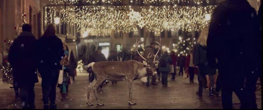 TV-Spot von Coop «Weihnachtsmusik lässt Herzen leuchten» - in Solothurn gedreht.