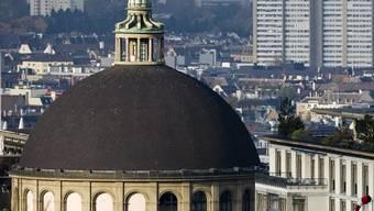 Die ETH-Kuppel, im Hintergrund die Stadt Zürich (Archiv)