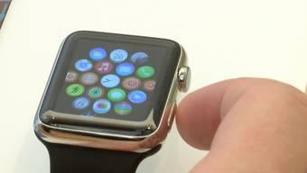 Apple-Watch-Verkaufsstart: Eindrücke aus dem Zürcher Apple Store.