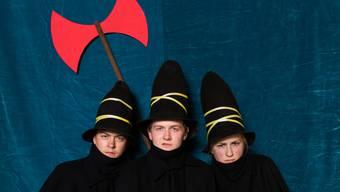 Weihnachtszeit, Räuberzeit: Im Theater Basel wird Tomi Ungerers «Die drei Räuber» aufgeführt.