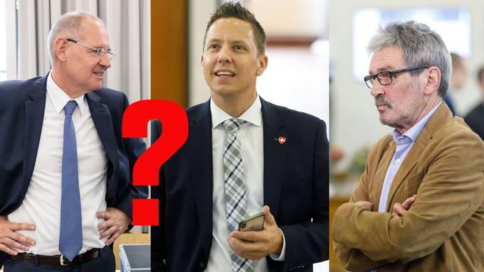 Stefan Nünlist (FDP) und Christian Imark (SVP): Wer tritt gegen Roberto Zanetti im zweiten Wahlgang an?