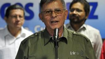 Farc-Führer Rodrigo Granda spricht in Havanna vor Journalisten