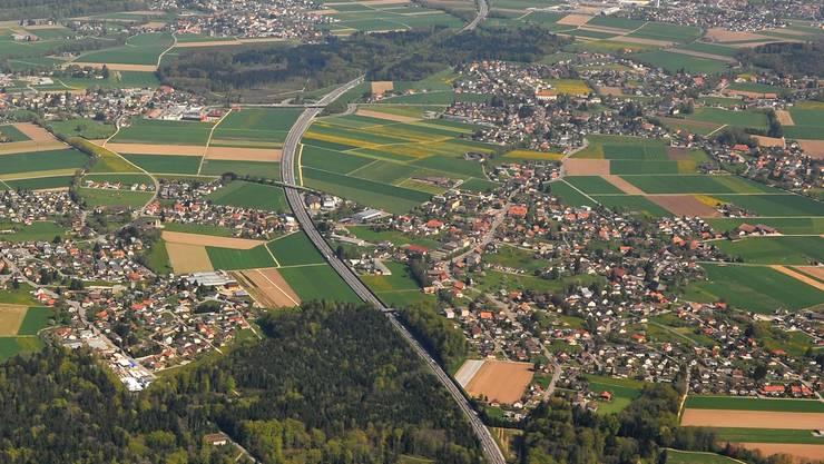 Der Regierungsrat will die Zersiedelung – im Bild die Agglomeration Solothurn – aufhalten.
